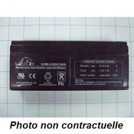 Batterie 6V / 5A pour balances Ohaus