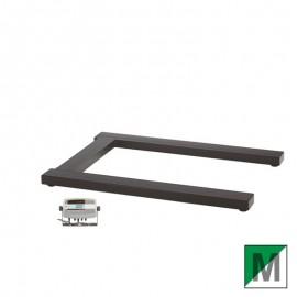 Pèse-palette Ohaus acier peint VFPP Série avec indicateur T51P
