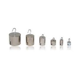 Poids à suspendre cylindrique M1 de 1g à 20kg en acier inoxydable