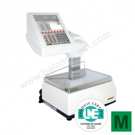 Balance tactile Exa K-Scale 20 RLI double imprimante