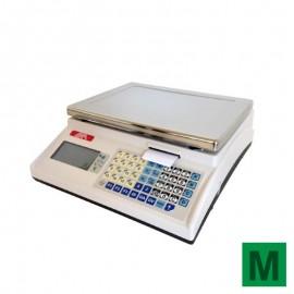 Balance poids prix à ticket et batterie Exa ECO Print