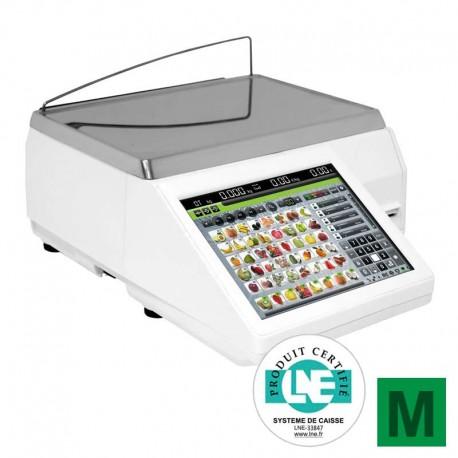 Balance compacte tactile Exa K-Scale 10RL imprimante à tickets ou étiquettes